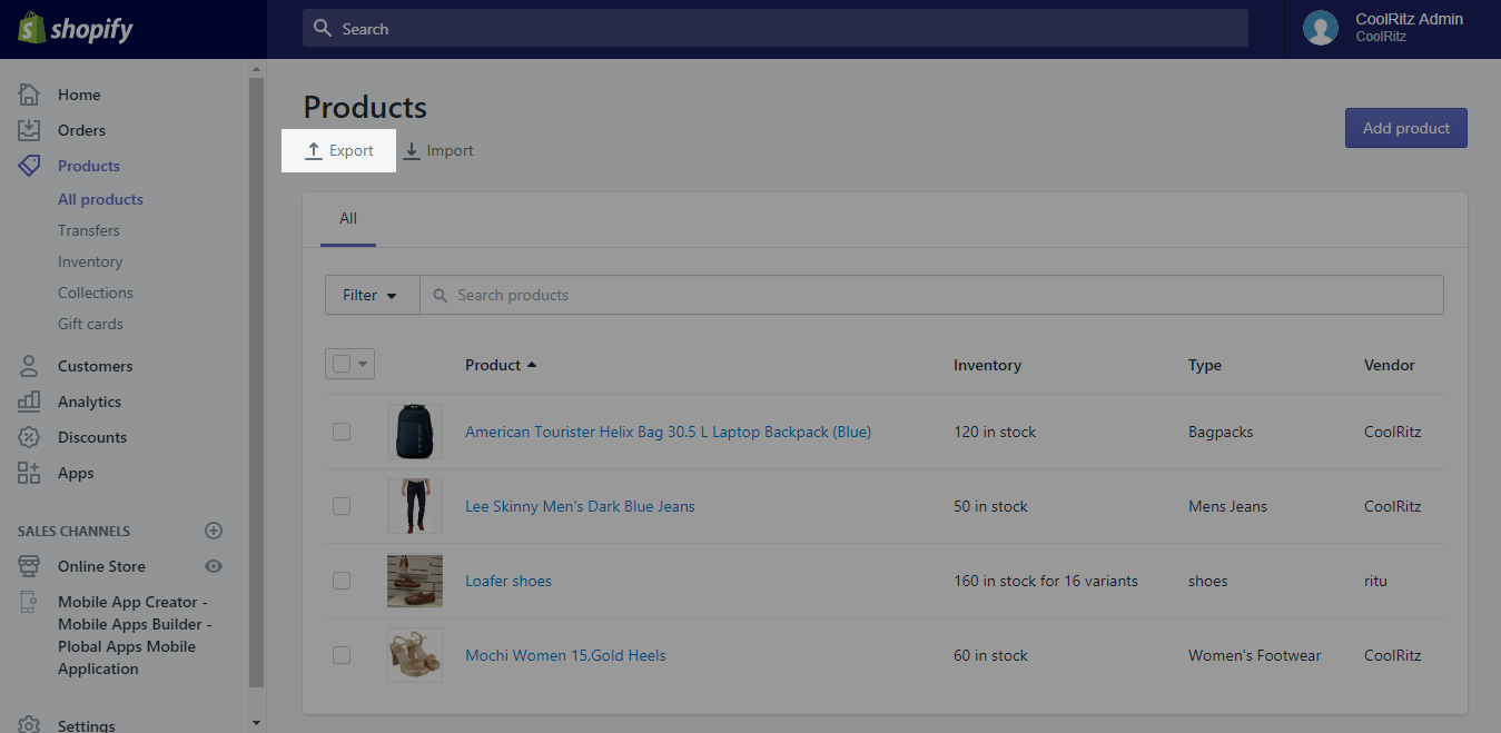 Import Product from Shopify to your HipKart store – HipKart